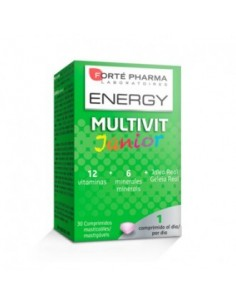 Forté Pharma Energy Multivit Júnior 30 comp