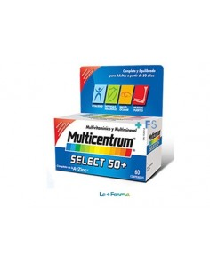 Multicentrum select +50 60 comprimidos